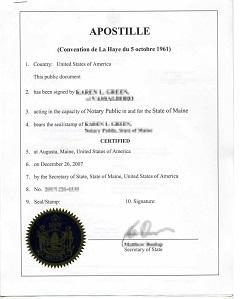 Превод и легализация на документи за чужбина – част I